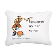 Romans 12:11 Rectangular Canvas Pillow
