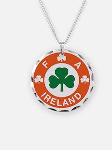 Irish Soccer Necklace