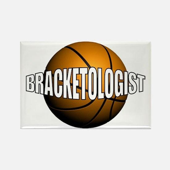 Bracketologist Rectangle Magnet