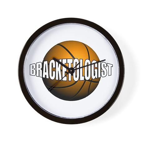 Bracketologist Wall Clock