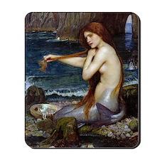 John William Waterhouse Mermaid Mousepad