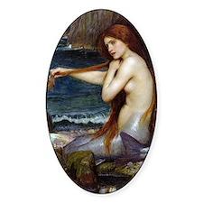 John William Waterhouse Mermaid Decal