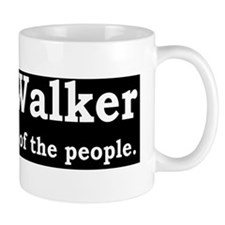 scott walker for the peopled Small Mug