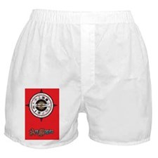 Compass RED Boxer Shorts