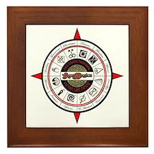 2012 Compass RED Framed Tile
