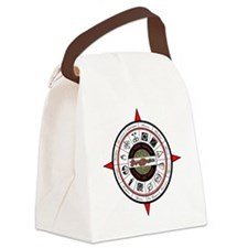 2012 Compass RED Canvas Lunch Bag