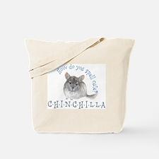 cute chinchilla Tote Bag