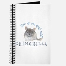 cute chinchilla Journal