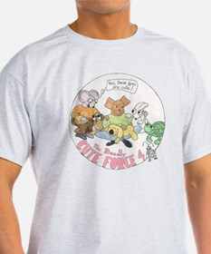 Deadly Cute Force Four T-Shirt