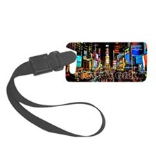 NY_5x3rect_sticker_TimesSquare Luggage Tag