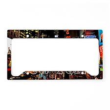NY_5x3rect_sticker_TimesSquar License Plate Holder