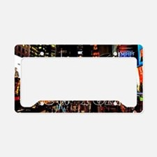 NY_5x3rect_sticker_TimesSquar License Plate Holder