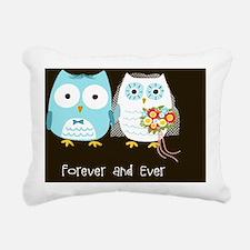 owlspillow Rectangular Canvas Pillow