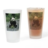 Panda bear Pint Glasses