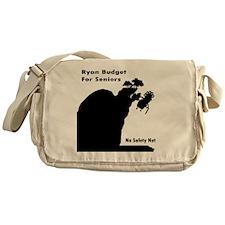 Ryan Budget for Seniors Messenger Bag