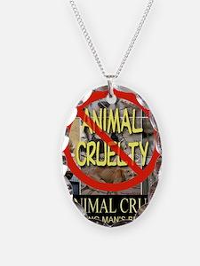 No Animal Cruelty Necklace