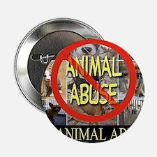 "No Animal Abuse 2.25"" Button"