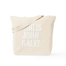 Who Is John Galt? Tote Bag