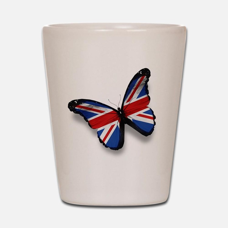 Butterfly Shot Glass