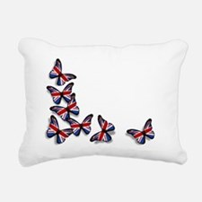Butterflies Rectangular Canvas Pillow