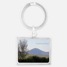 fryeburg magnet Landscape Keychain