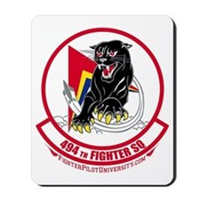 494th_Fighter_Squadron_BLK Mousepad