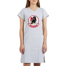 494th_Fighter_Squadron_BLK Women's Nightshirt