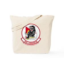 494th_Fighter_Squadron_BLK Tote Bag