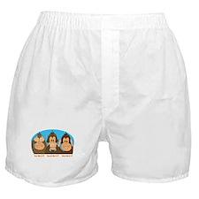 See,Speak,Hear No Evil Boxer Shorts