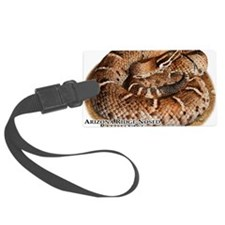 Arizona Ridge-Nosed Rattlesnake Luggage Tag