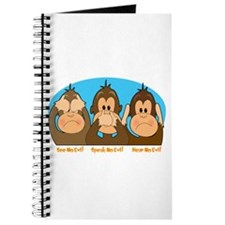 See,Speak,Hear No Evil Journal