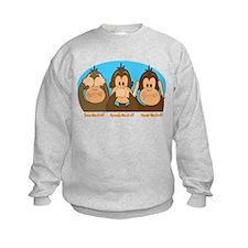 See,Speak,Hear No Evil Sweatshirt