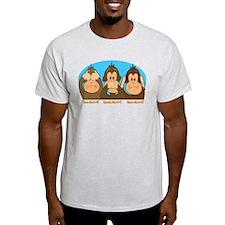 See,Speak,Hear No Evil T-Shirt