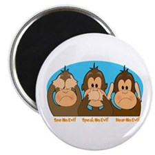 See,Speak,Hear No Evil Magnet