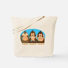 See,Speak,Hear No Evil Tote Bag