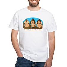 See,Speak,Hear No Evil Shirt