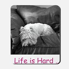 new hard life outside Mousepad