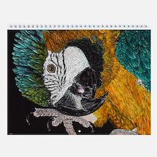 Parrot Wall Calendar
