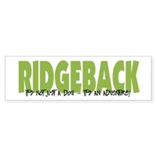 Ridgeback ADVENTURE Bumper Bumper Sticker