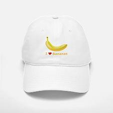 I Love Banana Baseball Baseball Cap