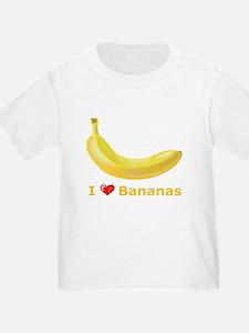 I Love Banana T