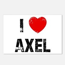 I * Axel Postcards (Package of 8)