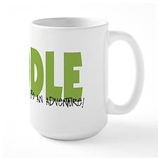 Poodle IT'S AN ADVENTURE Mug