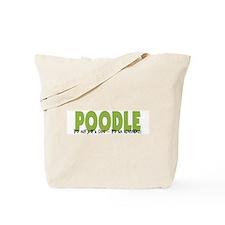 Poodle IT'S AN ADVENTURE Tote Bag