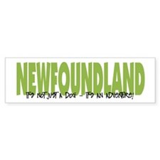 Newfoundland ADVENTURE Bumper Bumper Sticker