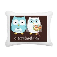 Owlcongrats Rectangular Canvas Pillow