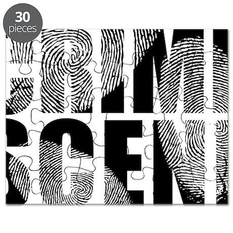 Crime Scene Finger Prints Puzzle