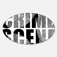 Crime Scene Finger Prints Decal