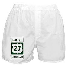 East 27 Montauk Green Boxer Shorts