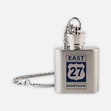 East 27 Montauk Blue Flask Necklace